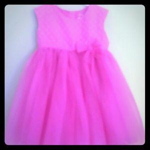 GIRL'S CHERRY PINK DRESS Sz 5T